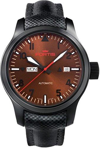 Fortis B-42 Aeromaster Dawn 655.18.98.LP Reloj Automático para hombres Legibilidad Excelente