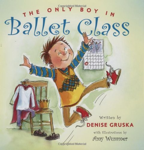 The Only Boy in Ballet Class