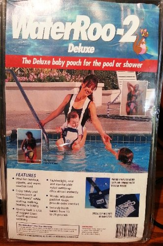 WaterRoo-2 Deluxe Baby Pouch for the Pool or Shower