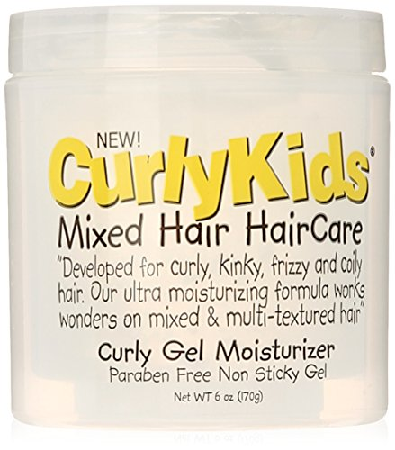 CurlyKids Mixed HairCare Curly Gel Moisturizer 6oz