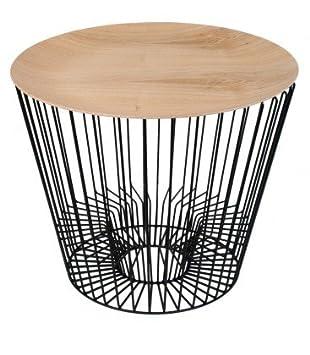 Tavolino basso portariviste Piano in legno: Coming B