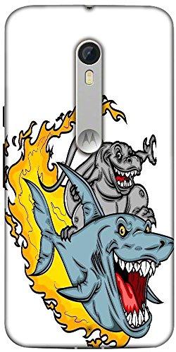 snoogg-dinosaur-riding-a-shark-designer-protective-fall-abdeckung-fur-motorol
