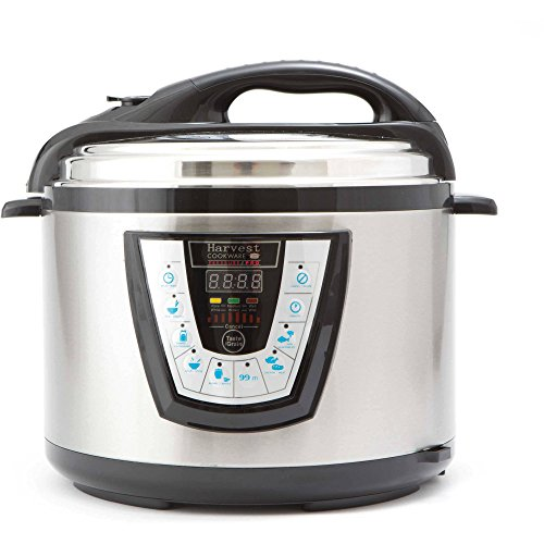 10-Quart One-Touch Operation, Cookware Electric Original Pressure, Cooker, Black (Harvest Electric Pressure Cooker compare prices)
