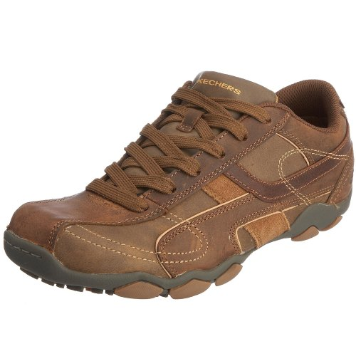 Skechers Men's Diameter Torino Lace-Up Dark Brown 61780  7 UK