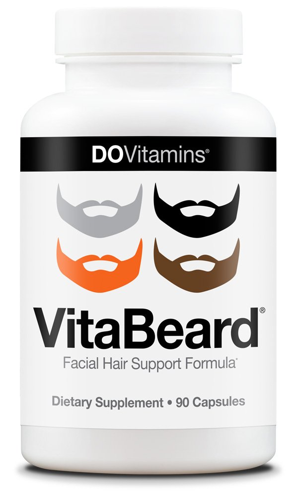 Vitabeard Facial Hair Support Vitamins