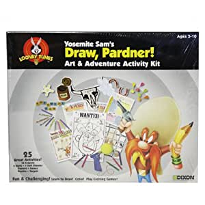 Looney Tunes Yosemite Sam's Draw, Pardner Art & Adventure Activity Kit