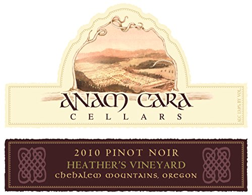 2010 Anam Cara Cellars Heather'S Vineyard Pinot Noir 750 Ml