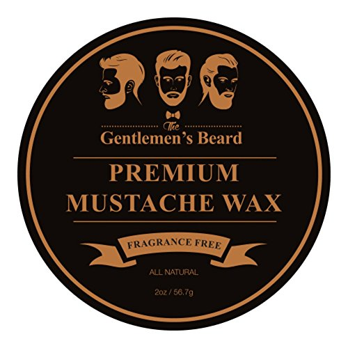 The Gentlemen's Premium Mustache Wax