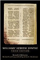 Williams Hebrew Syntax, Third Edition