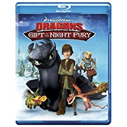 Dragons: Gift the Night Fury Blu Ray
