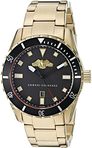 Armani-Exchange-Mens-AX1710-Analog-Display-Analog-Quartz-Gold-Watch
