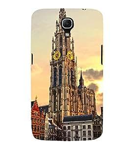 VINTAGE CLOCK TOWER MONUMENT IN EVENING 3D Hard Polycarbonate Designer Back Case Cover for Samsung Galaxy Mega 6.3 i9200 :: Samsung Galaxy Mega 6.3 i91200
