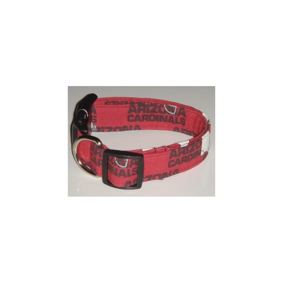 NFL Arizona Cardinals Football Dog Collar Red X Large 1