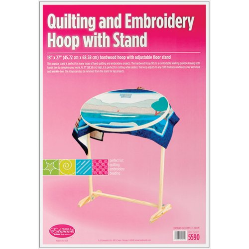 Edmunds Wood Hoop and Floor Stand primary