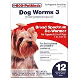 Dog Worms 3 Sm Dog 12ct