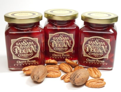 Cherry Pecan Preserves 3 pk By The Great San