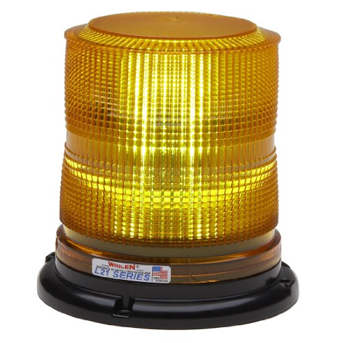 Whelen Engineering L21 Series Super-Led Beacon - Permanent Mount, Amber