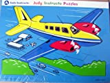 JUDY INSTRUCTO JIGSAW Airplane PUZZLE