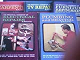 img - for The Practical Handbook of Carpentry,tv Repairs, Furnitire Refinishing, Electrical Repairs, Plumbing and Heating 5 Vols. book / textbook / text book