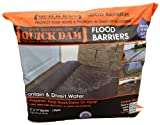 Quick Dam QD617-1 Flood Barrier, 6-Inch x 17-Feet, 1-Pack