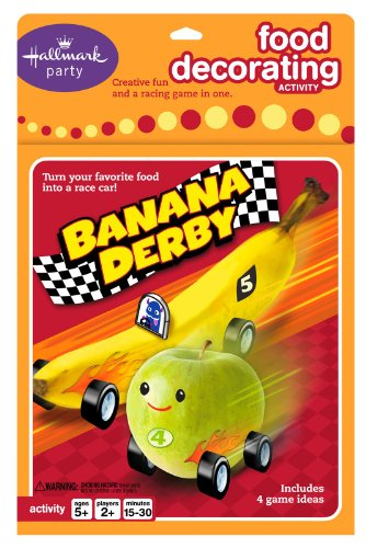 Hallmark Party Food Decorating Activity Banana Derby