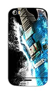 Miicreations Mobile Skin Sticker For Micromax canvas doodle-2-A-240,Guitar