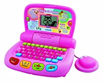 VTech Tote 'n Go Laptop Pink - vtech learning laptop :  toys for kids learning toys vtech electronic toys