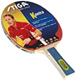 Stiga 183101 Kontra Table Tennis Bat - Red, Concave
