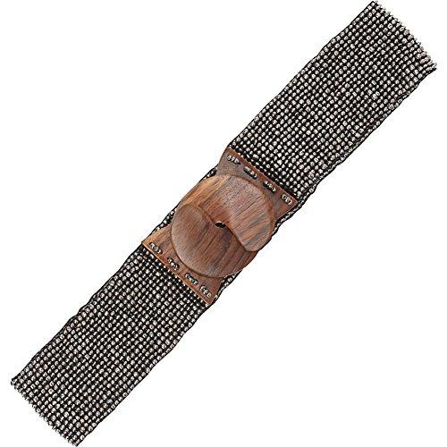 tlcyou-stretch-beaded-belt-dull-platinum