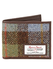 Pure Wool Harris Tweed Wallet
