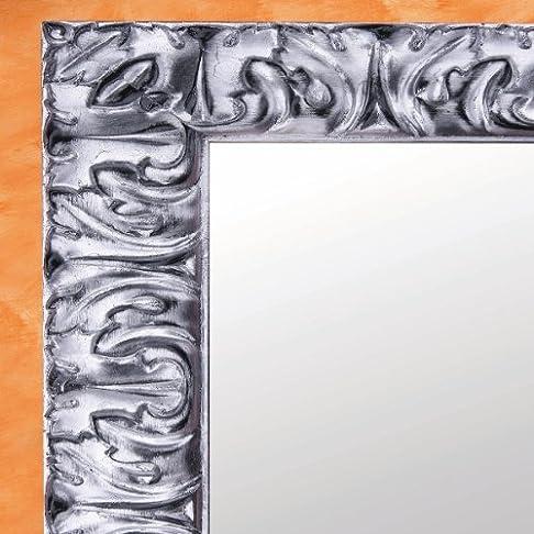 Specchiera Giglio Domus-Foglia Argento