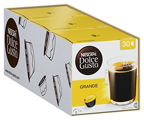 Nescafe Dolce Gusto Capsules (Pack of 3, Total 90)