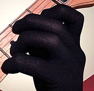 guitar glove bass glove musician practice glove m 2 pack fits either hand. Black Bedroom Furniture Sets. Home Design Ideas
