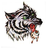 Spestyle Waterproof Non Toxic Temporary Tattoo Stickers Temporary Temporary Tattoos Waterproof Male Wolf Head Totem