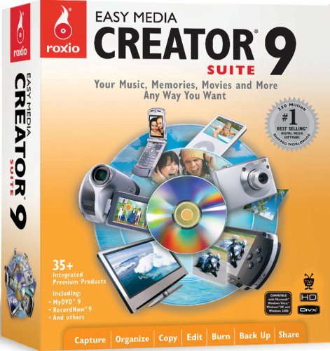 Roxio Easy Media Creator 9