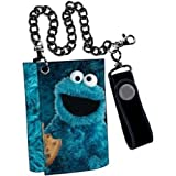 Sesame Street Cookie Monster Tri Fold Wallet [Toy]