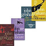 John Grisham Collection 4 Books Set, (The Confession, the Partner, the associate and the Pelican brief) John Grisham