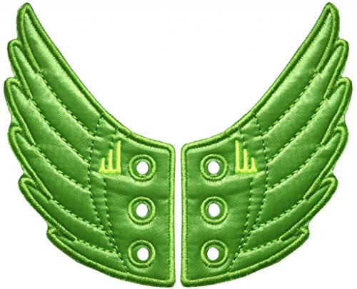 Shwings Men's Lace Style (One Pair) Lime Wings One Size fits all Green - 1