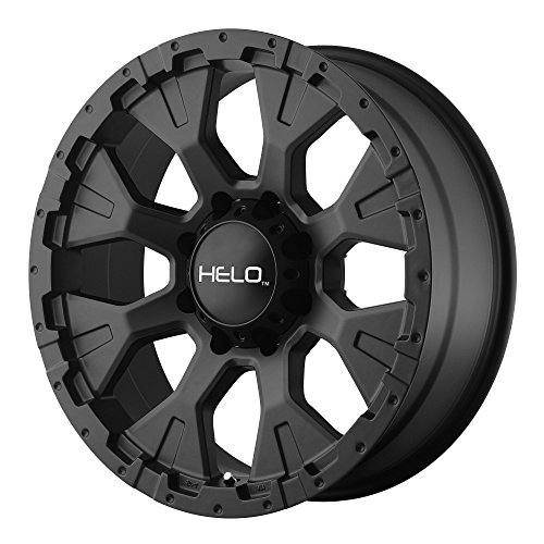 Helo HE878 Satin Black Wheel (16x9