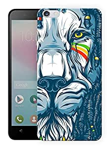 "Humor Gang Tribal Rasta Lion Printed Designer Mobile Back Cover For ""Huawei Honor 4X"" (3D, Matte, Premium Quality Snap On Case)"