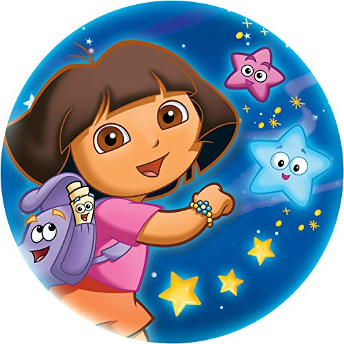 Projectables 13212 Led Plug-in Night Light (Dora Chasing Stars), Multi at Gotham City Store