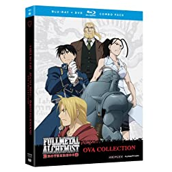 Fullmetal Alchemist Brotherhood: 4 OVA's and Comic Theater (Blu-ray/DVD Combo)