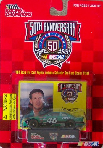Racing Champions 50th Anniversary Nascar Wally Dallenbach #46 First Union 1:64 Scale Die Cast Replica
