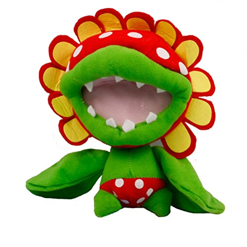 Super Mario Bros Plush Piranha Plant Doll Soft Stuffed Plush Toy Anime Collection Birthday Gifts 7.5 Inch/19cm Tall