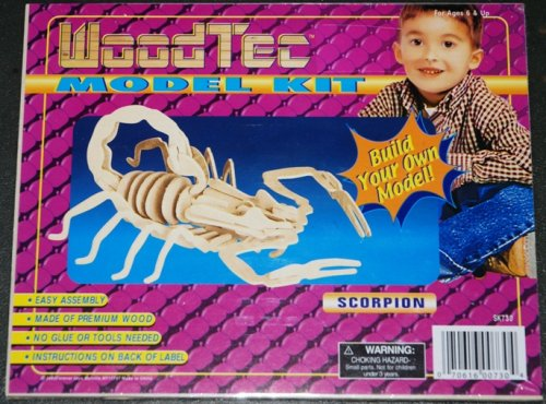 Cheap Forever Toys Wood Tec Wooden 3D Model Kit – Scorpion (1 Each) (B001UHKGOW)