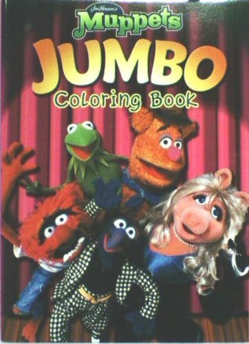 Jim Hensons The Muppets Jumbo Coloring And Activity Boo