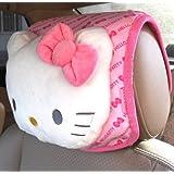 Hello Kitty Car Headrest Cushion (Butterfly Pattern)