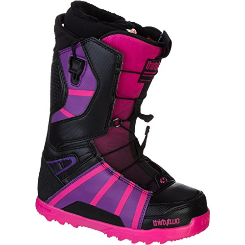 thirtytwo Women's Lashed FT 13 Inch Snowboard Boot,Black/Pink,5 D US