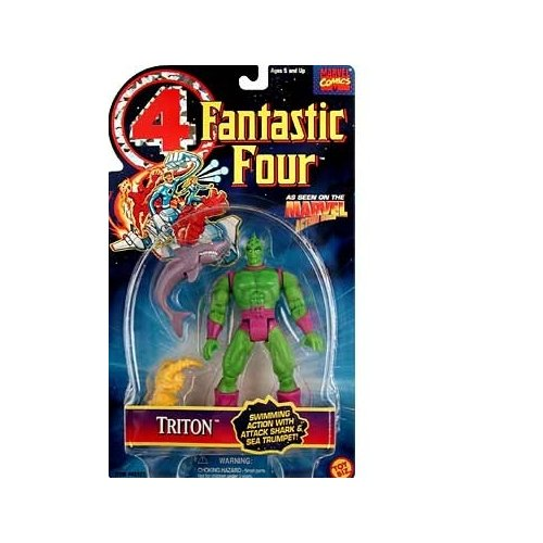 Fantastic Four Triton Action Figure - 1