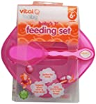 Vital Baby Baby's First Feeding Set,...